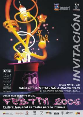 LA FIESTA DEL TEATRO INFANTIL EN CARACAS CON FESTIN 2006