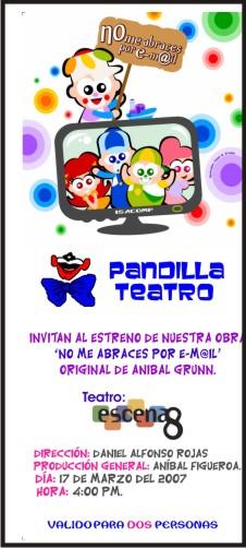 Pandilla Teatro en Teatro Escena 8